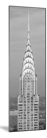 Close up of the Chrysler Building at sunset. It is the view from 42nd Street and 5th Avenue.--Mounted Photographic Print