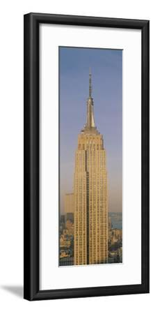 Empire State Building New York NY--Framed Photographic Print