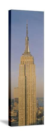Empire State Building New York NY--Stretched Canvas Print