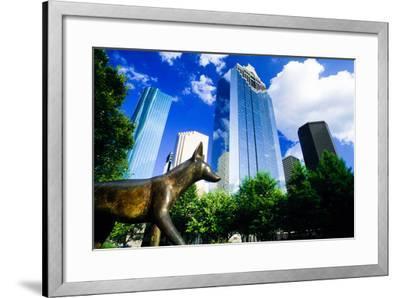 Heritage Park, Houston, Texas--Framed Photographic Print