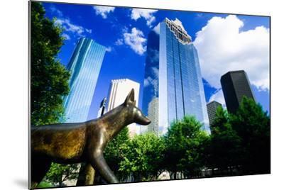 Heritage Park, Houston, Texas--Mounted Photographic Print