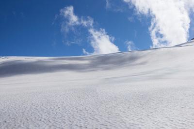 View of glacier, Bonner Glacier, Mount Aspiring National Park, West Coast, South Island, New Zea...--Framed Photographic Print