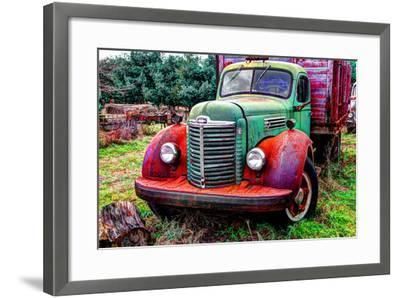 International truck 2 HDR, Overisel Township, Allegan County, Michigan, USA--Framed Photographic Print