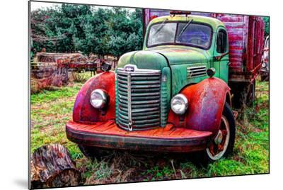 International truck 2 HDR, Overisel Township, Allegan County, Michigan, USA--Mounted Photographic Print
