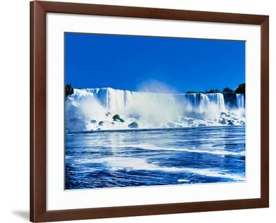American Falls, Niagara River, New York State, USA--Framed Photographic Print