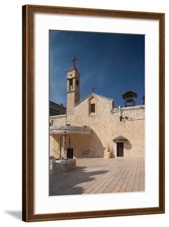 Saint Gabriels Greek Orthodox Church, Nazareth, The Galilee, Israel--Framed Photographic Print