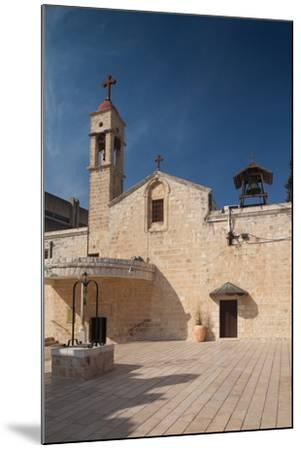 Saint Gabriels Greek Orthodox Church, Nazareth, The Galilee, Israel--Mounted Photographic Print
