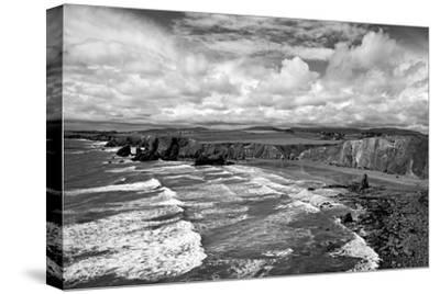 Ballydowane Cove on the Copper Coast, County Waterford, Ireland--Stretched Canvas Print
