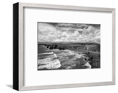 Ballydowane Cove on the Copper Coast, County Waterford, Ireland--Framed Photographic Print