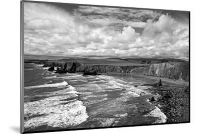 Ballydowane Cove on the Copper Coast, County Waterford, Ireland--Mounted Photographic Print