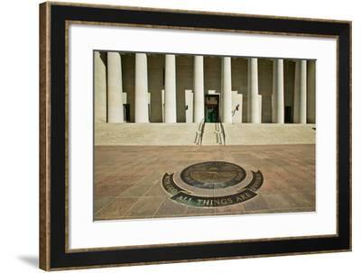 State Capitol of Ohio, Columbus--Framed Photographic Print