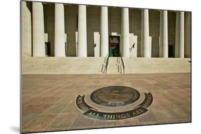State Capitol of Ohio, Columbus--Mounted Photographic Print