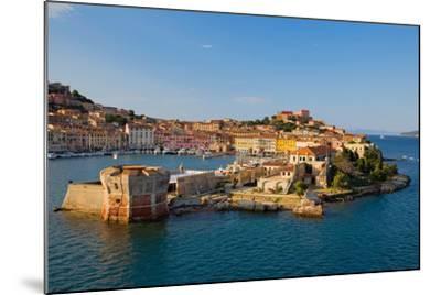 View of Portoferraio, Province of Livorno, on the island of Elba--Mounted Photographic Print