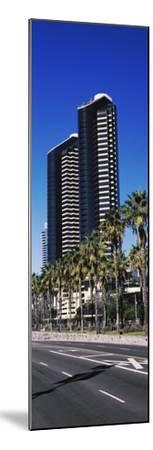Low angle view of skyscrapers in a city, San Diego, California, USA--Mounted Photographic Print