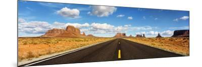 Road, Monument Valley, Arizona, USA--Mounted Photographic Print
