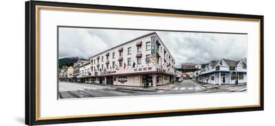 Buildings in a city, Ketchikan, Southeast Alaska, Alaska, USA--Framed Photographic Print