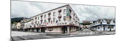 Buildings in a city, Ketchikan, Southeast Alaska, Alaska, USA--Mounted Photographic Print