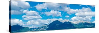 Clouds over Rocky Mountains, Salida, Colorado, USA--Stretched Canvas Print