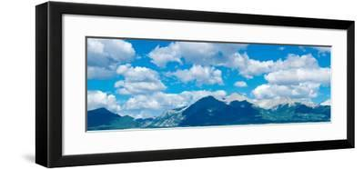 Clouds over Rocky Mountains, Salida, Colorado, USA--Framed Photographic Print