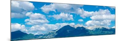 Clouds over Rocky Mountains, Salida, Colorado, USA--Mounted Photographic Print