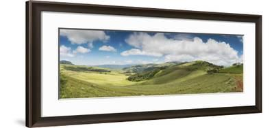 Rolling hills of the Wolkberg Conservancy, Tzaneen, Limpopo Province, South Africa--Framed Photographic Print
