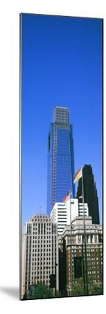 Low angle view of skyline in Downtown Philadelphia, Pennsylvania, USA--Mounted Photographic Print