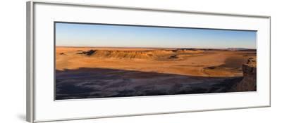 High angle view of Sahara Desert, Morocco--Framed Photographic Print