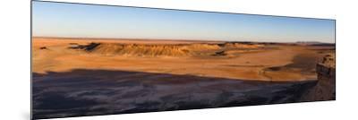 High angle view of Sahara Desert, Morocco--Mounted Photographic Print