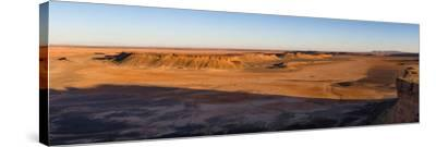 High angle view of Sahara Desert, Morocco--Stretched Canvas Print