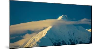 Mount Denali, previously known as McKinley from Wonder Lake, Denali National Park, Alaska--Mounted Photographic Print