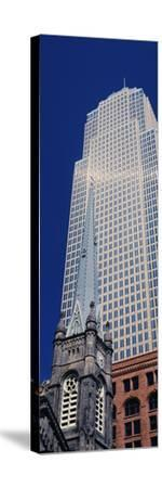 Key Tower on Public Square, Cleveland, Ohio, USA--Stretched Canvas Print
