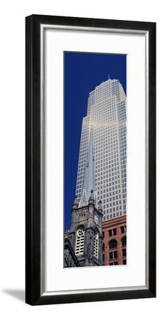 Key Tower on Public Square, Cleveland, Ohio, USA--Framed Photographic Print