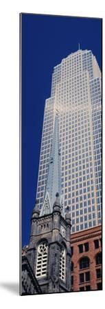Key Tower on Public Square, Cleveland, Ohio, USA--Mounted Photographic Print