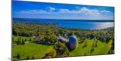 Aerial view of an observatory, Yerkes Observatory, Williams Bay, Wisconsin, USA--Mounted Photographic Print