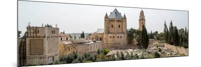 Church of Hagia Maria Abbey and Christian Cemetery, Jerusalem, Israel--Mounted Photographic Print