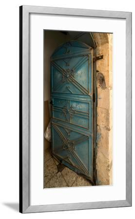 Open door, Safed (Zfat), Galilee, Israel--Framed Photographic Print