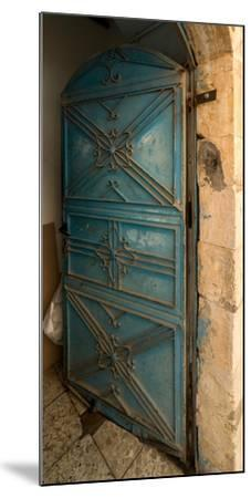Open door, Safed (Zfat), Galilee, Israel--Mounted Photographic Print