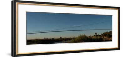 Pipeline Bridge over the Colorado River, Blythe, Riverside County,  California, USA Photographic Print by | Art com