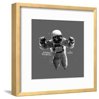 Avenged Sevenfold - The Stage Astronaut Grey--Framed Poster