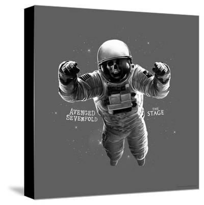 Avenged Sevenfold - The Stage Astronaut Grey--Stretched Canvas Print