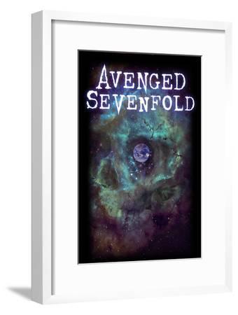 Avenged Sevenfold - Earth Eye--Framed Art Print