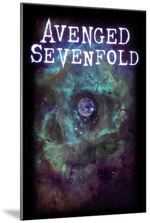 Avenged Sevenfold - Earth Eye--Mounted Art Print
