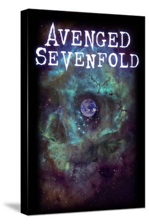 Avenged Sevenfold - Earth Eye--Stretched Canvas Print
