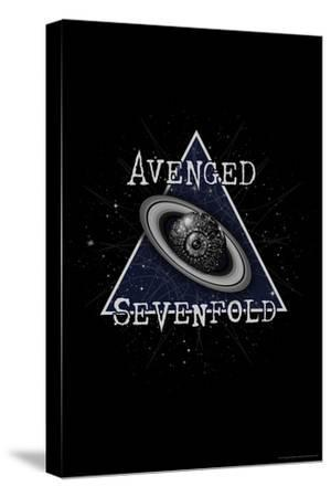 Avenged Sevenfold - Eye Planet--Stretched Canvas Print