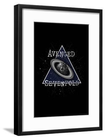 Avenged Sevenfold - Eye Planet--Framed Poster