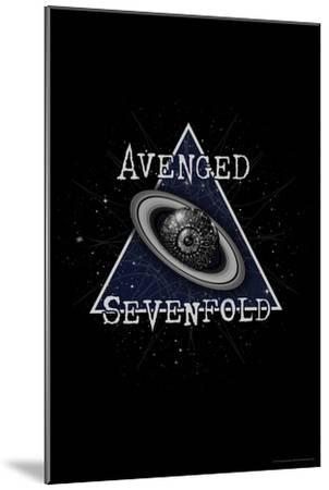 Avenged Sevenfold - Eye Planet--Mounted Poster