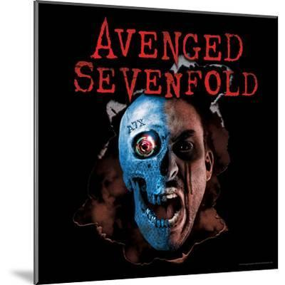 Avenged Sevenfold - A7X Two Face--Mounted Poster