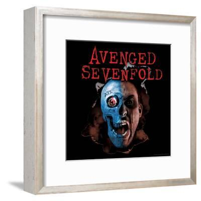 Avenged Sevenfold - A7X Two Face--Framed Poster