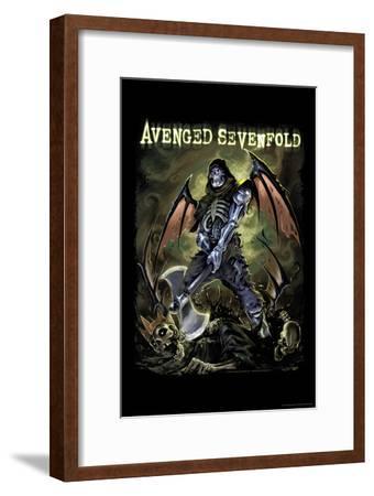 Avenged Sevenfold - Deathbat--Framed Poster