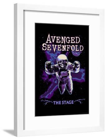 Avenged Sevenfold - The Stage Astronaut Skeleton--Framed Poster